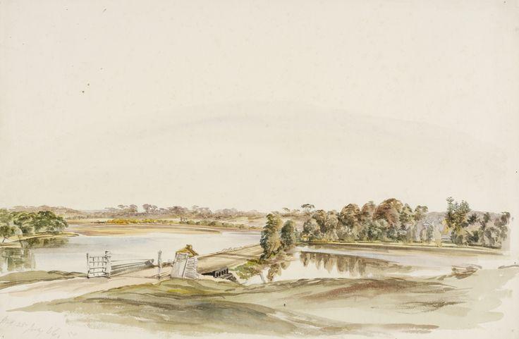 Dam, Cook's River. 1866