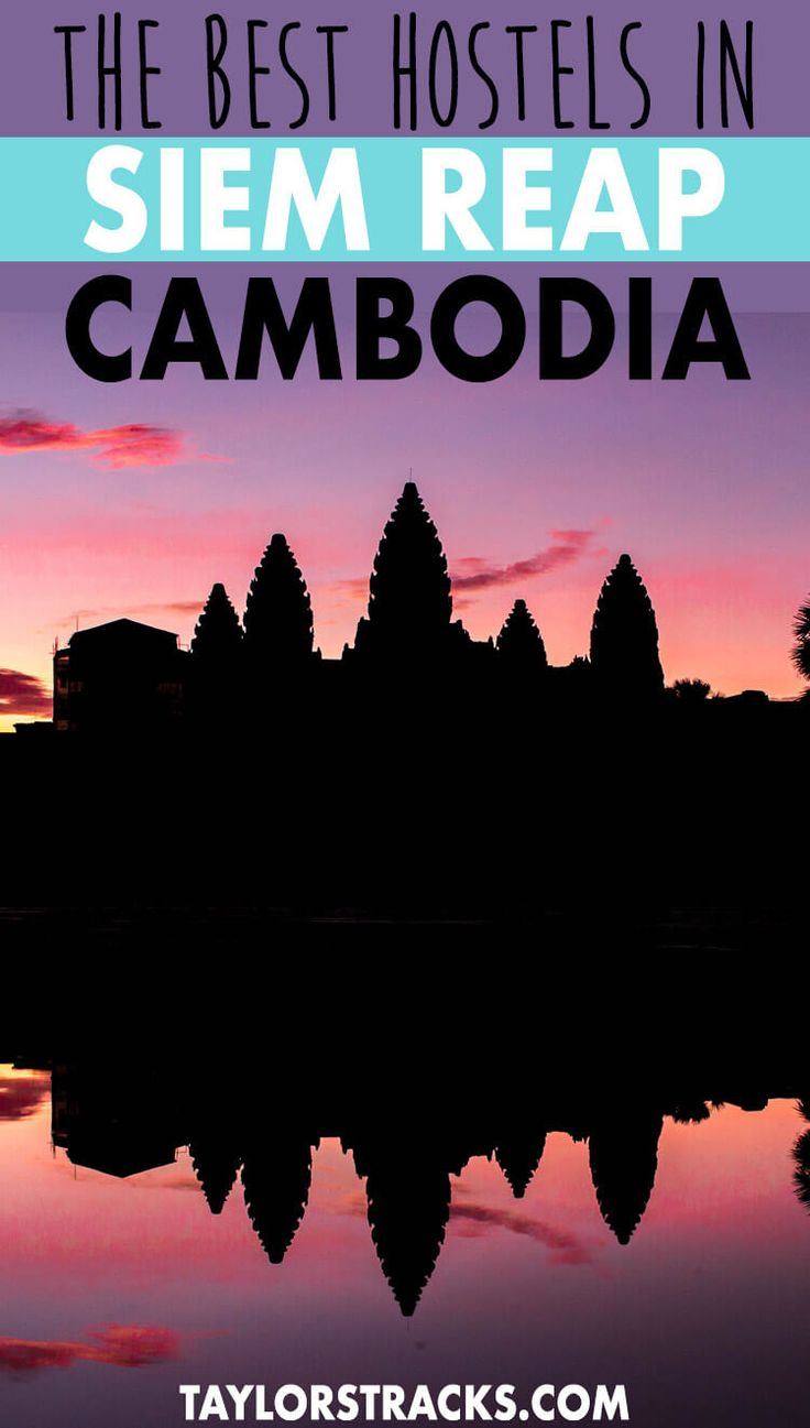 Finding the perfect place to stay in Cambodia is easy with this ultimate guide to the best hostels in Siem Reap! #cambodia #angkorwat ***** Cambodia hostels   Cambodia accommodation   Where to stay in Cambodia   Siem Reap hostels   Siem Reap accommodation   Where to stay in Siem Reap   Cambodia destinations   Cambodia travel   Southeast Asia destinations   Southeast Asia travel   Southeast Asia hostels