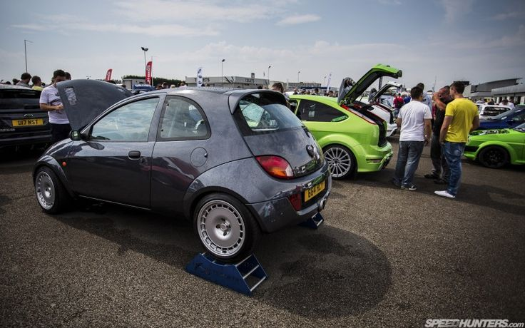 Ford Ka Streetka RWD with 2.0l Cosworth Turbocharged Engine > 300hp Mild to 350hp > Wight 900kg
