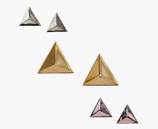Pyramid studs by TomTom jewelry