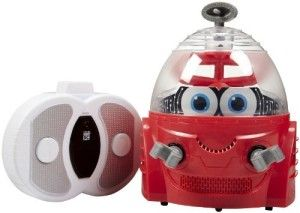 Kid Galaxy: Robot Data This little gem has held up better than any high priced, bells and whistles remote control toy on the market.   http://awsomegadgetsandtoysforgirlsandboys.com/kid-galaxy/ Kid Galaxy: Robot Data