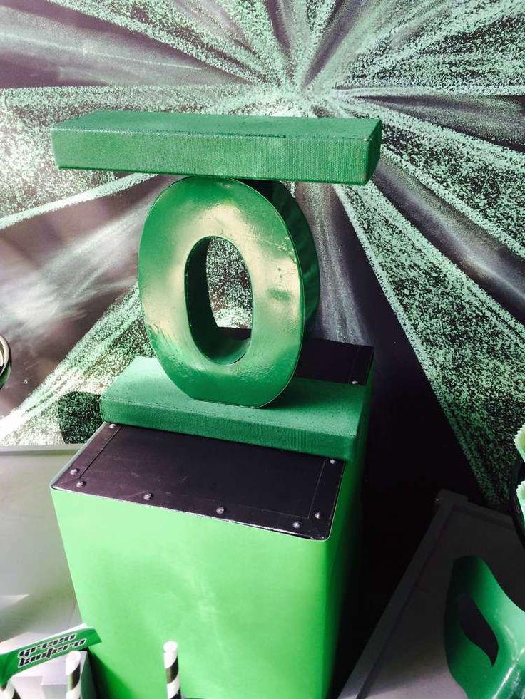 Green Lantern Birthday Party Ideas   Photo 1 of 29