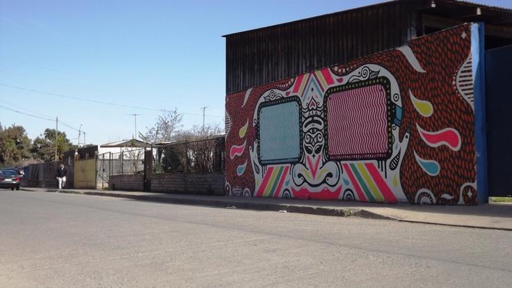 STREET ART 2012, CALLE GUILLERMO BERRÍOS, #GRANEROS