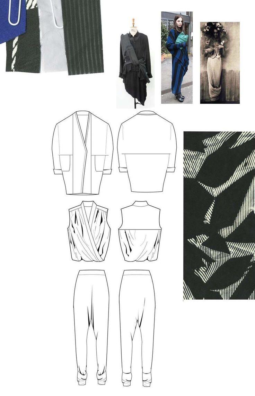 Fashion Sketchbook - fashion drawings, fabrics & colour inspirations; fashion portfolio // Chloe Bayles