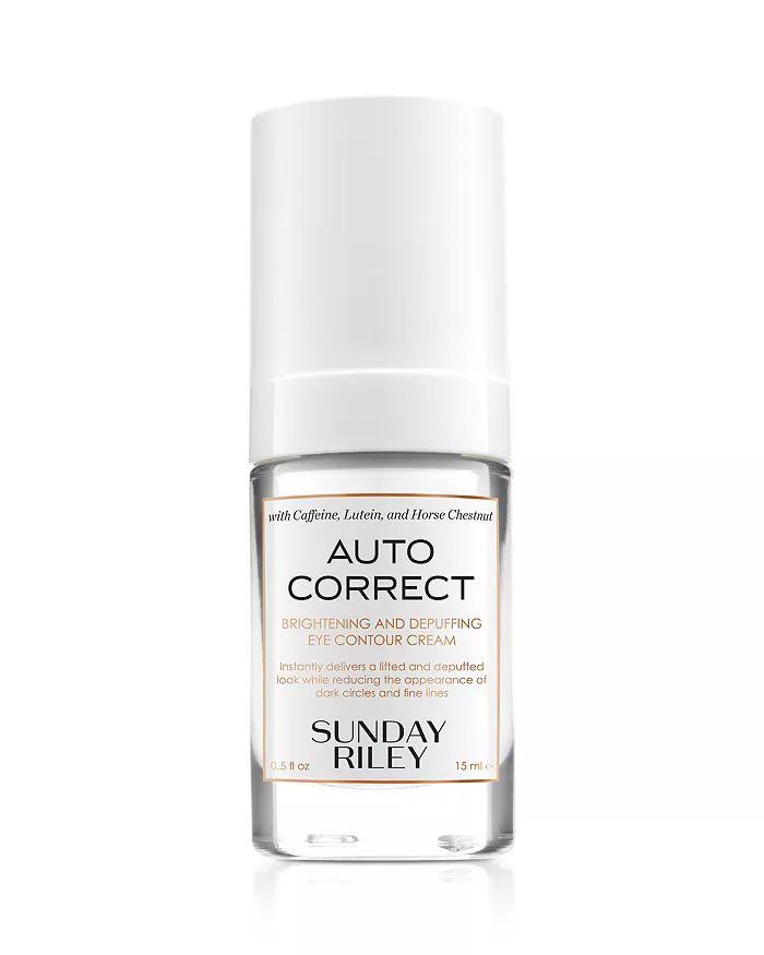 Sunday Riley Auto Correct Brightening Depuffing Eye Contour Cream Beauty Cosmetics Bloomingdale S In 2020 Best Eye Cream Eye Contour Diy Eye Cream