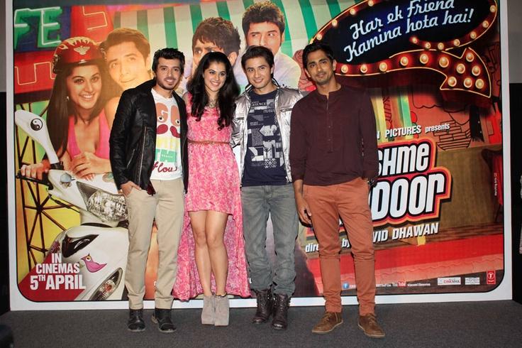 Divyendu Sharma,Tapsee Pannu,Ali Zafar and Siddharth