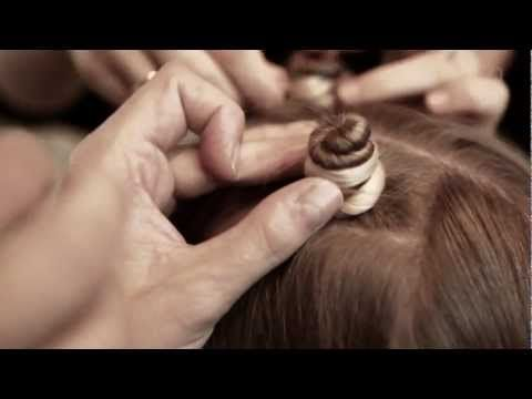 Foil Coil - Curl Hair Tutorial