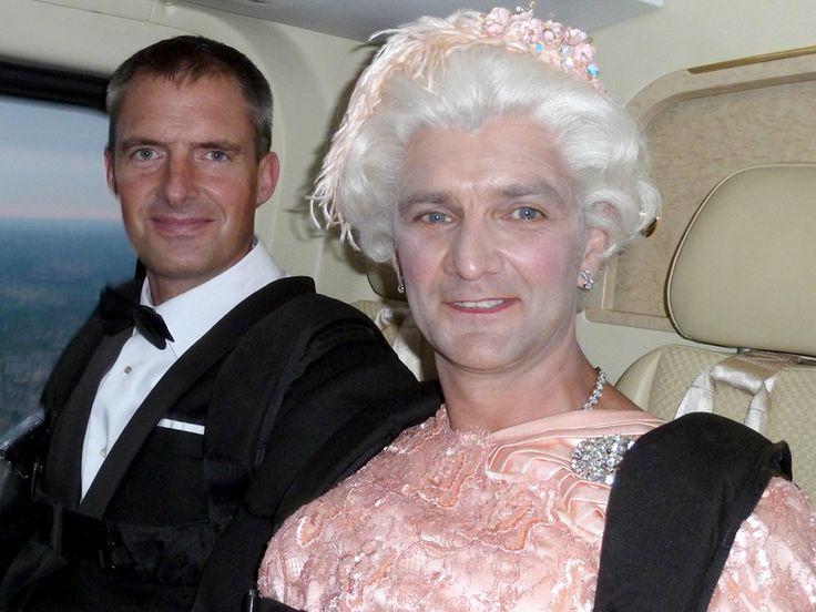 Meet Queen Elizabeth's skydiving stunt double #Olympics #London2012