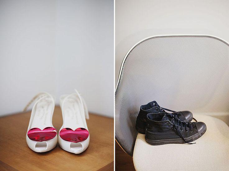 Creative wedding photography // Bethnal Green wedding // Vivienne Westwood wedding shoes vs Converse// By Inta Photography // http://intaphotography.com