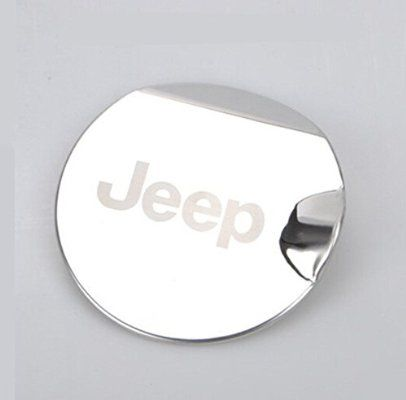 Moonet ABS Gas Fuel Tank Cap Cover For 2011 2012 2013 2014 2015 Jeep Patriot