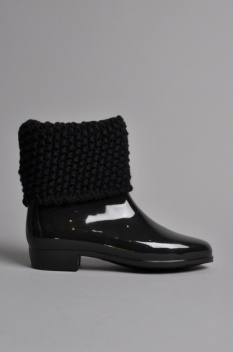 Melissa Ankle Boot Fold Black