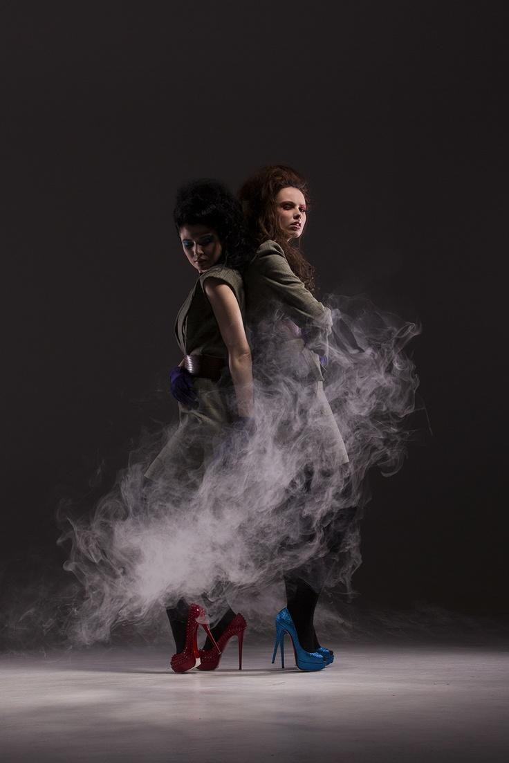 Sabine Shift & Samantha Suit for Spencer by Colin Gilchrist