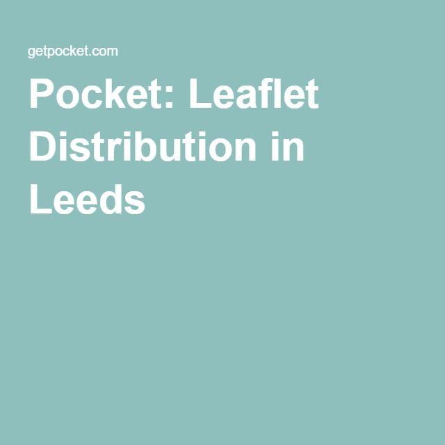 Pocket: Leaflet Distribution in Leeds