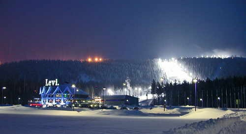 The resort of Levi in Lapland - magical place.