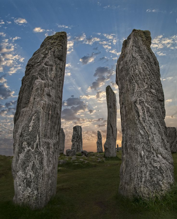 This image is a bit of a cheat.  The Callanish Stones were from an earlier trip to Lewis in May and the sky is from my recent holiday in Cyprus.   While in Lewis the weather didnt co-operate to allow me to get this image in camera while I was there.  The joys of Photoshop.