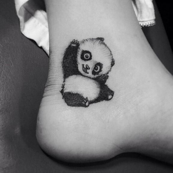 25 Best Ideas About Panda Tattoos On Pinterest Mandala Lion Drawing And Easy Animal