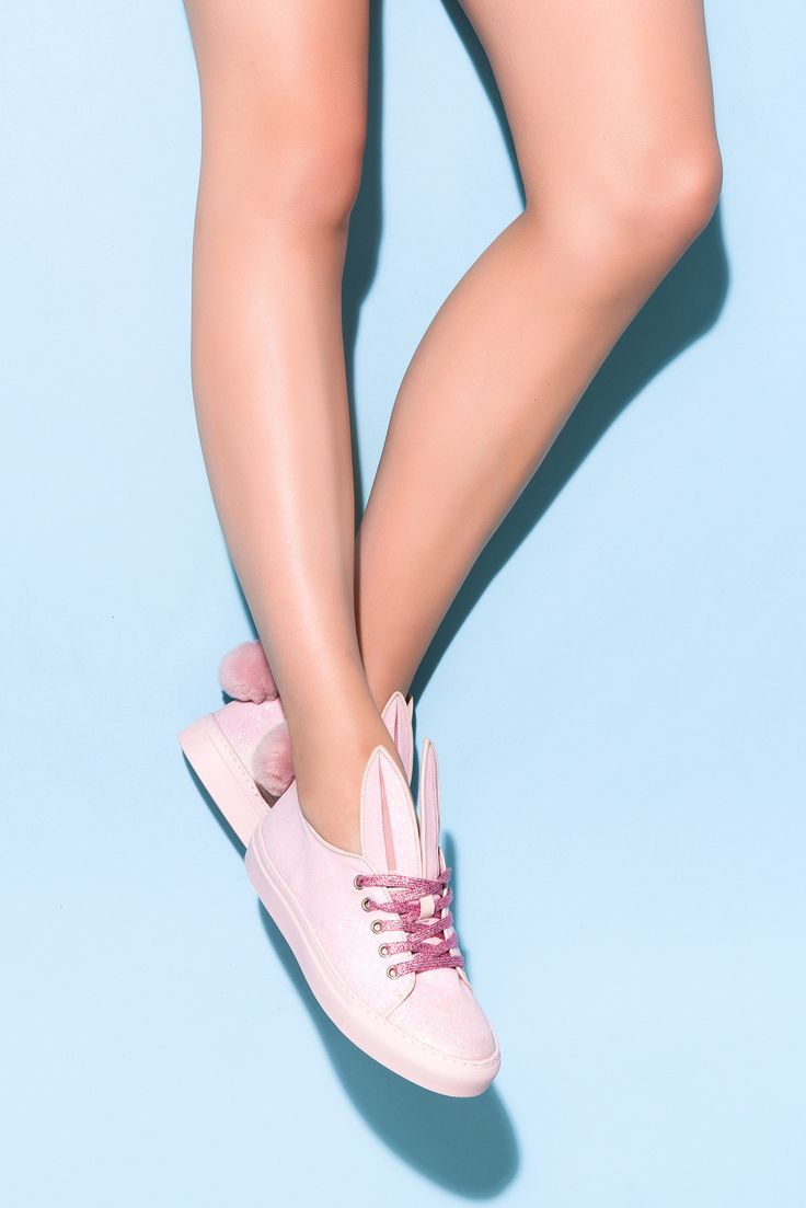 Minna Parikka Tail Sneaks pink glitter