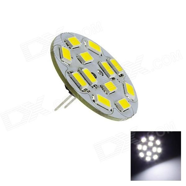 Color: White; Color BIN: White; Model: OP2; Material: PCB; Quantity: 1 Piece; Power: 6W; Rated Voltage: DC 12 V; Connector Type: MR11; Chip Brand: NICHIA; Chip Type: 5730; Emitter Type: LED; Total Emitters: 12; Theoretical Lumens: 290 lumens; Actual Lumens: 230 lumens; Color Temperature: 6500K; Dimmable: no; Beam Angle: 180 °; Certification: CE / RoHS; Packing List: 1 x LED lamp; http://j.mp/1tor61I