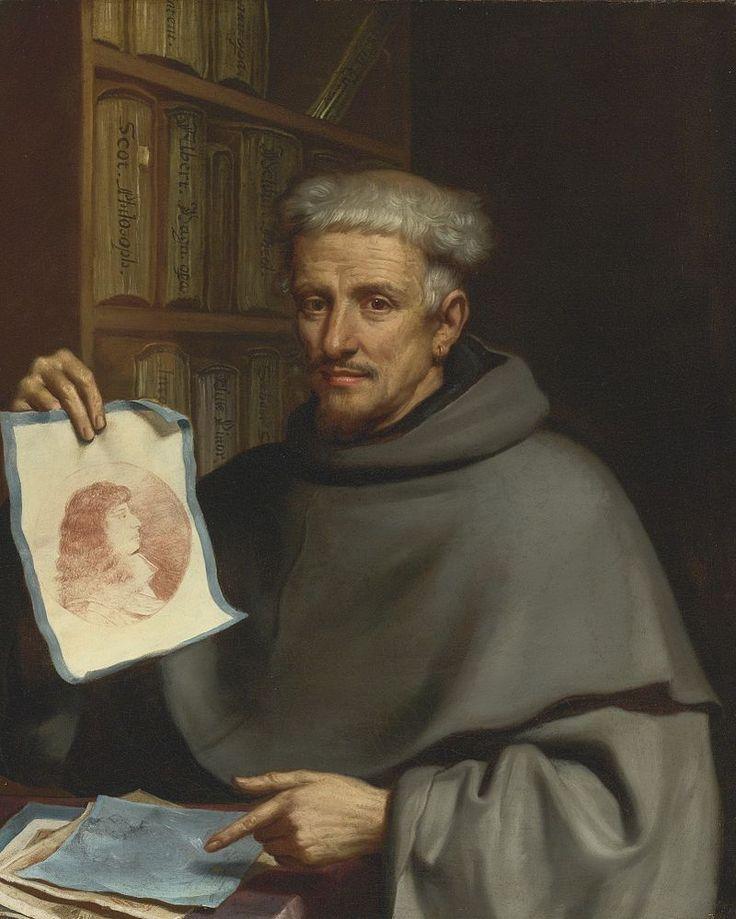Portrait of Fra Bonaventura Bisi, Guercino