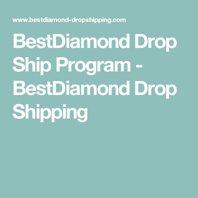 BestDiamond Drop Ship Program - BestDiamond Drop Shipping