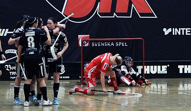 JIK:s damer föll mot Sala Silverstaden.
