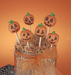 Jack-O'-Lantern Cake Pops | C&H Sugar