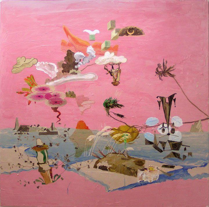 Julian Hooper - Landing Oil on Canvas 1400 x 1400