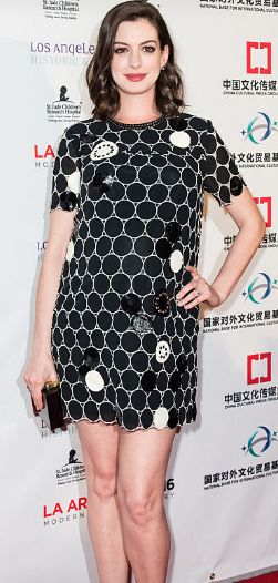 Inspirujte se stylovou ikonou, Anne Hathaway