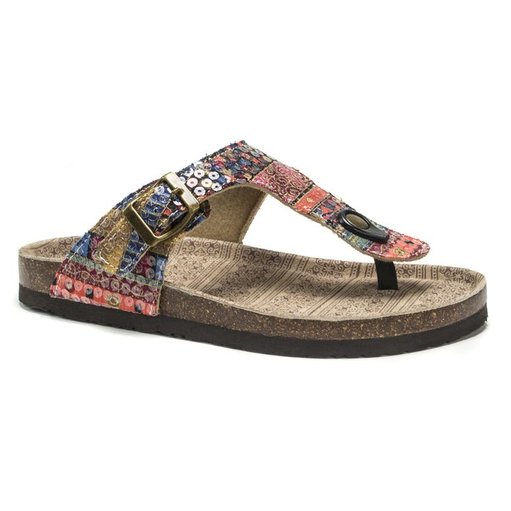 Color Geometric Pattern Women's Fashion Comfortable Flip Flop Big Screen Slip On Slide Sandal