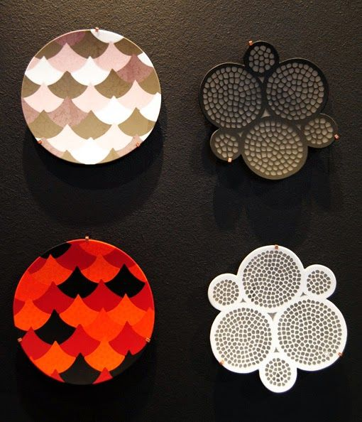from blog THE HAT CHASER Bubble Plate for Ercole Moretti design collection. Design by Kazuyo Komoda