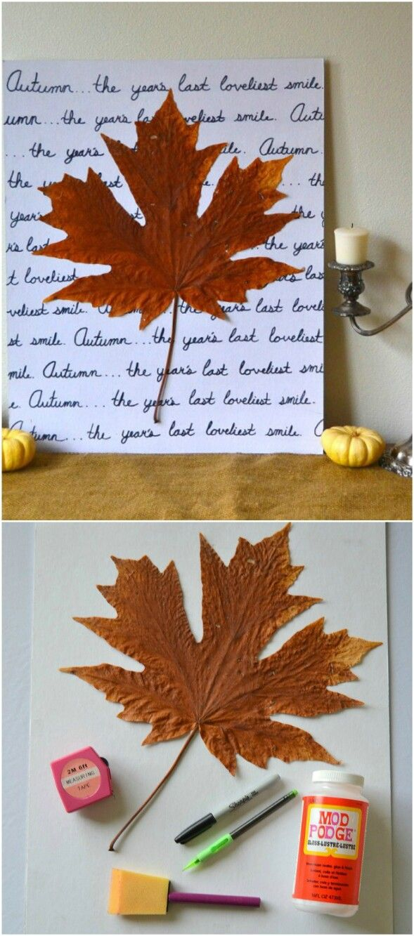 60 fabulous fall diy projects to decorate and beautify for Fall diy crafts pinterest
