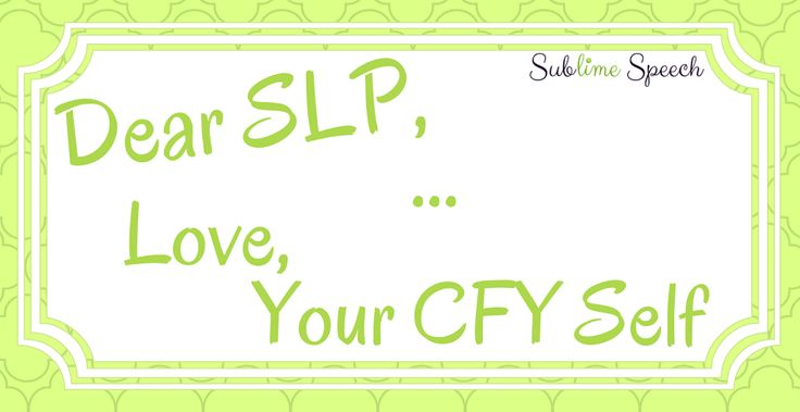 Dear SLP,  It's a little crazy in your world right now, isn't it? I see you with file folders stacked high, post-it notes adorning your computer screen, and a to-do list a m...