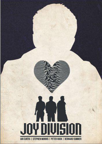 indie music poster design | illustration # art # typography # design joy division