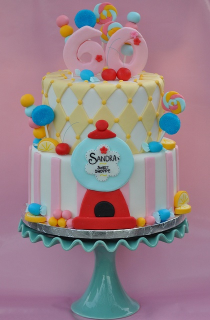 ♡: Sweet Shoppe, Blue Cupcakes, Cakes Ideas, Gumball Cakes, Shoppe Cakes, Amazing Cakes, Candy Cakes, Sweet Shops, First Birthday Cakes