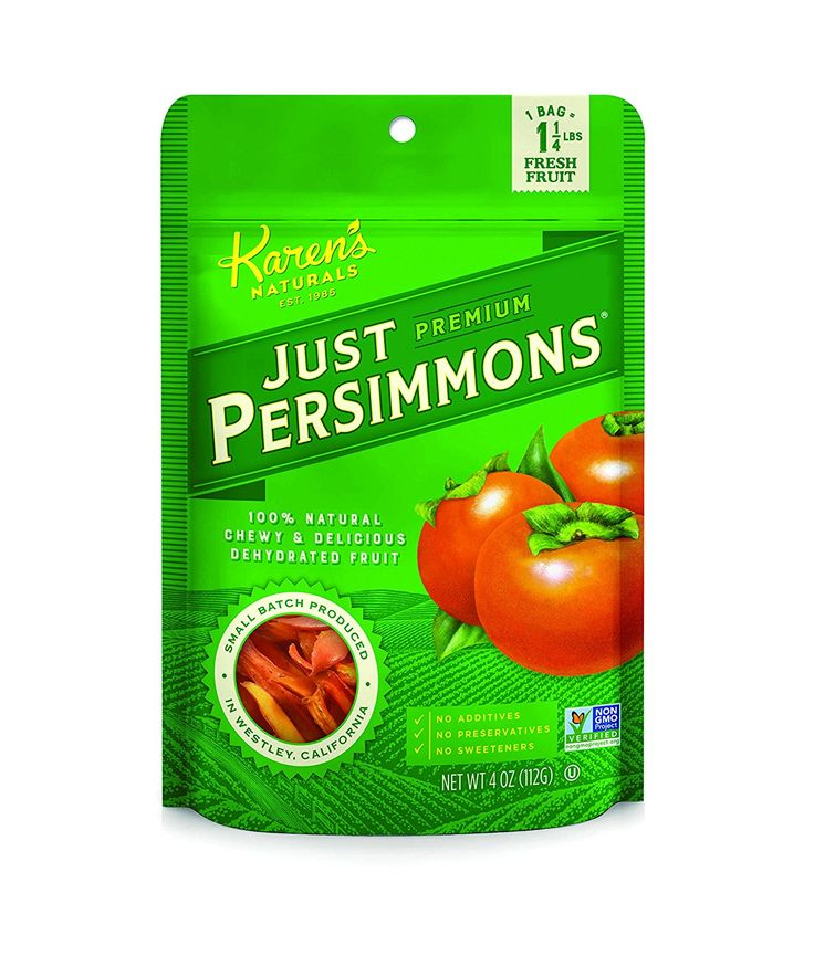 Karen's Naturals Just Tomatoes, Just Persimmons 4 Ounce Pouch (Packaging May Vary) ^^ See this great image @ : Amazon fresh