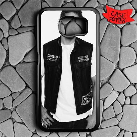 Jax Teller Samsung Galaxy S7 Black Case