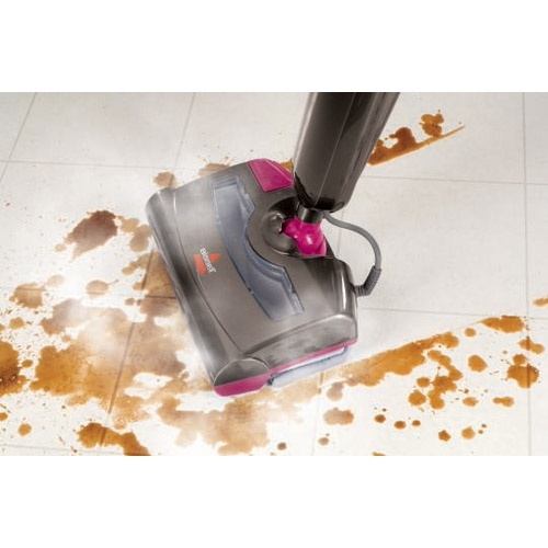 pick up pet hair and steam clean away messes at the same time with the twoinone convenience of the steam floor cleaner