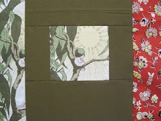 'Gumnut babies' baby quilt (fussy cut) by Milly of #tinwhistle