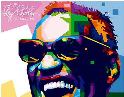 """Check out new work on my @Behance portfolio: """"Ray Charles"""" http://be.net/gallery/33666256/Ray-Charles"""