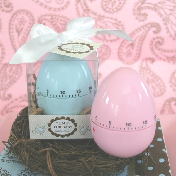 this practical and inventive baby shower favor will be appreciated by guests with its stylish packaging