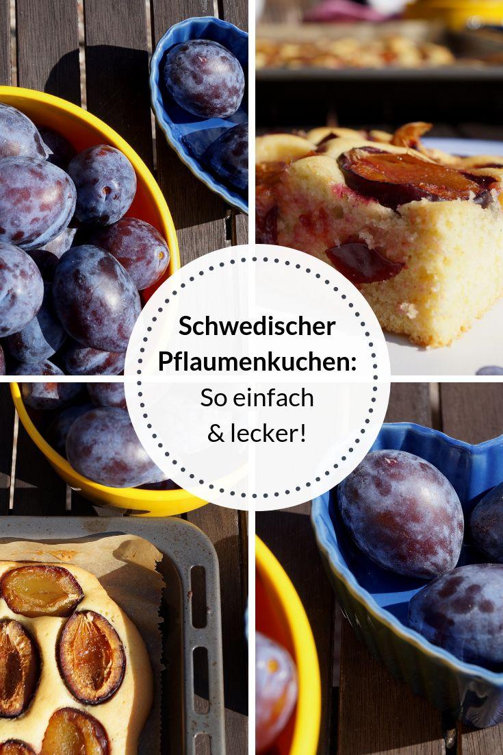 Schwedischer Pflaumenkuchen: So einfach und lecker!