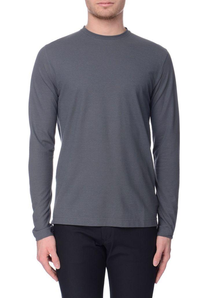 Zanone - SS17 - Menswear // Grey t-shirt in cotton