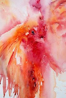 Jean Haines #watercolor jd