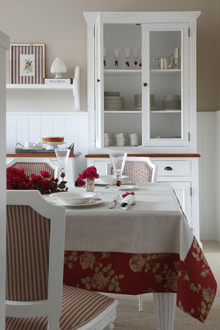 Toalha de Mesa Linho Londres. #ScavoneCasa #Scavone #jantar #casa #cozinha…