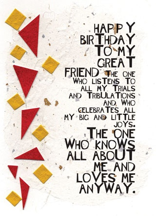 Give this card to your best friend for their birthday to let them know how much you appreciate them, or check out some other cards created by Kay Foley, who will be at ArtandAir this summer from June 1-3 at booth #404!