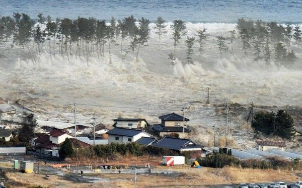 9.1 earthquake & subsequent tsunami hit the east of Japan, killing 15,840 & 3926 missing.  Tsunami warnings are issued in 50 countries.  Emergencies declared at 4 nuclear power plants affected by the quake.  Mar. 11, 2011