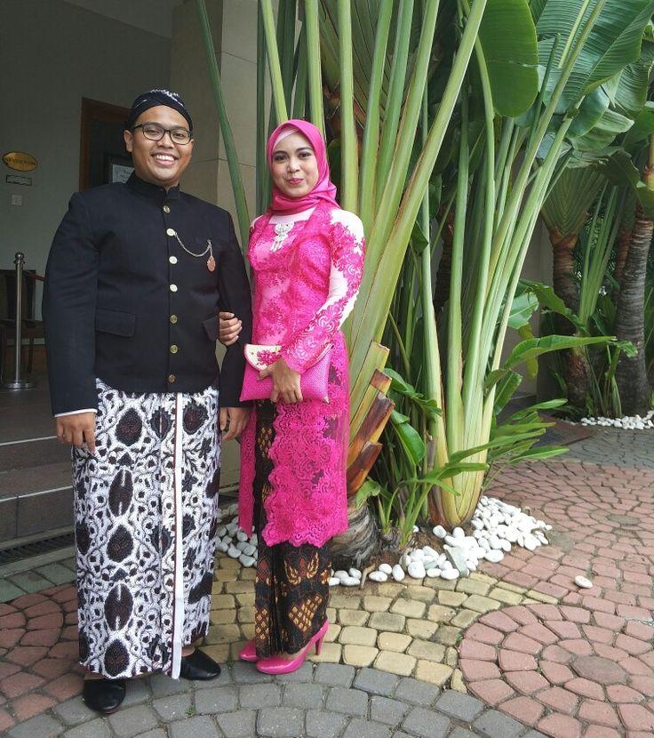 When Beskap met Kebaya, Javanese attire for Bela's Wedding