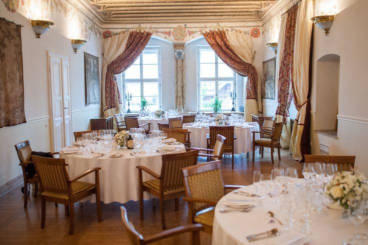 Royal Hall, gala/dinner/wedding party set.  Ask about our banquet / wedding offer: sales@palacbonerowski.pl #palacbonerowski #krakow #marketsquare #mainsquare #poland #luxury #travel #business #event #conference  www.palacbonerowski.pl