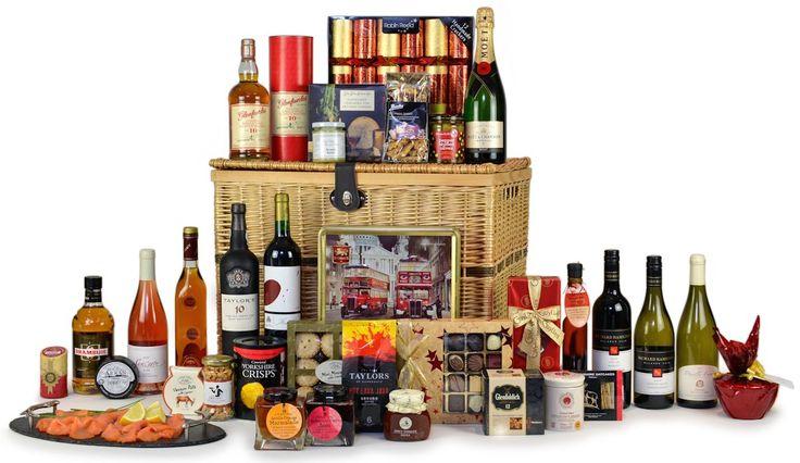 Indulgent Banquet luxury hampers - Highland Fayre Artisan Hampers: Find out more at: http://scripts.affiliatefuture.com/AFClick.asp?affiliateID=327716&merchantID=4675&programmeID=12149&mediaID=0&tracking=&url= #Food Hampers #Food Baskets #Scottish Hampers