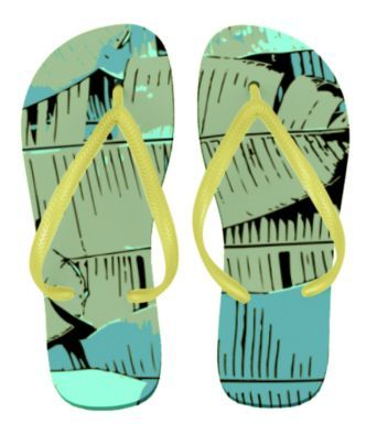 8R593 Tropical Vibes Sandal for Women - Qtee.com